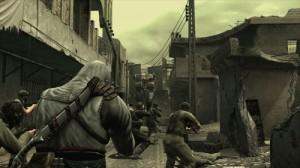 Assassin's Creed em Metal Gear Solid 4