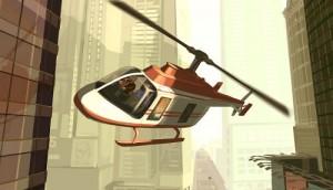 Grand Theft Auto IV de helicóptero