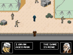 Metal Gear Solid 4 (NES Demake)
