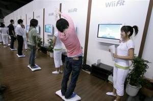 Wii Fit em grupo