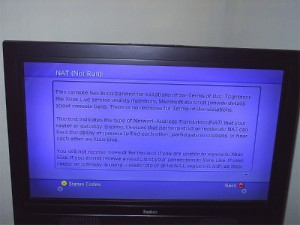Xbox 360 banido da Internet.