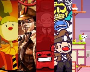 Indie Games (CarneyVale, La-Mulana, Meat Boy, Spelunky, Fez)