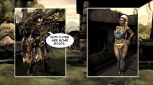 Comic Jumper: Em uma versão meio Conan