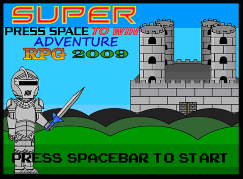 Super Press Space To Win Adventure RPG 2009