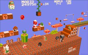 Mario em 3D - fan art