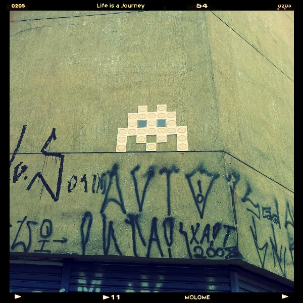 Space Invader em SP